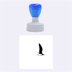 Seagull 1 Rubber Round Stamps (medium) by Jamboo