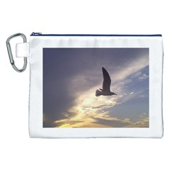 Seagull 1 Canvas Cosmetic Bag (XXL)  by Jamboo