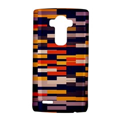 Rectangles In Retro Colors			lg G4 Hardshell Case by LalyLauraFLM