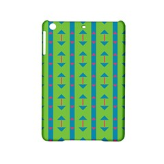 Arrows And Stripes Pattern			apple Ipad Mini 2 Hardshell Case by LalyLauraFLM