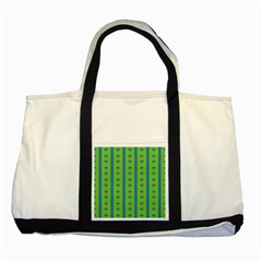 Arrows And Stripes Patterntwo Tone Tote Bag by LalyLauraFLM