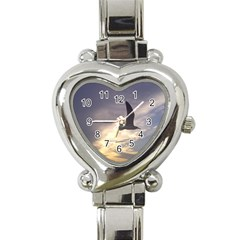 Fly Seagull Heart Italian Charm Watch by Jamboo
