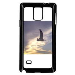 Fly Seagull Samsung Galaxy Note 4 Case (Black) by Jamboo
