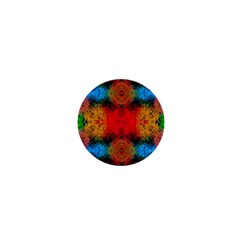 Colorful Goa   Painting 1  Mini Buttons by Costasonlineshop