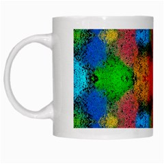 Colorful Goa   Painting White Mugs by Costasonlineshop