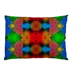 Colorful Goa   Painting Pillow Cases by Costasonlineshop