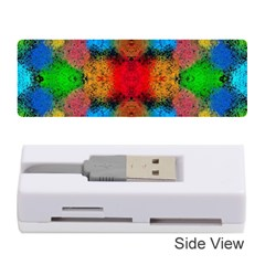 Colorful Goa   Painting Memory Card Reader (stick)  by Costasonlineshop