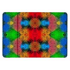 Colorful Goa   Painting Samsung Galaxy Tab 8 9  P7300 Flip Case by Costasonlineshop