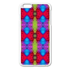 Colorful Painting Goa Pattern Apple Iphone 6 Plus/6s Plus Enamel White Case by Costasonlineshop