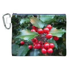 Holly 1 Canvas Cosmetic Bag (xxl)  by trendistuff