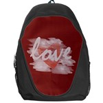 Cute Bright Red Watercolor Love Heart - Backpack Bag