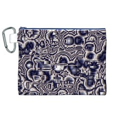 Reflective Illusion 04 Canvas Cosmetic Bag (xl)  by MoreColorsinLife