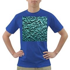 Green Metallic Background, Dark T Shirt by Costasonlineshop