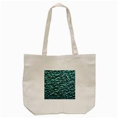 Green Metallic Background, Tote Bag (cream)  by Costasonlineshop