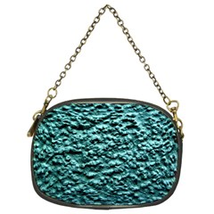 Green Metallic Background, Chain Purses (two Sides)  by Costasonlineshop