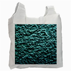 Green Metallic Background, Recycle Bag (Two Side)  by Costasonlineshop