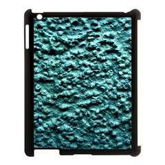 Green Metallic Background, Apple Ipad 3/4 Case (black) by Costasonlineshop