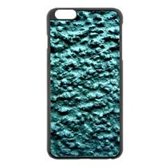Green Metallic Background, Apple Iphone 6 Plus/6s Plus Black Enamel Case by Costasonlineshop