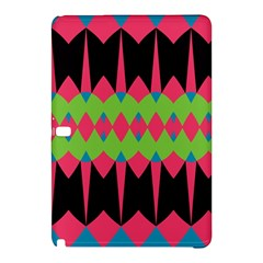 Rhombus and other shapes pattern			Samsung Galaxy Tab Pro 12.2 Hardshell Case by LalyLauraFLM