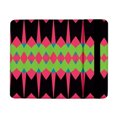 Rhombus And Other Shapes Pattern			samsung Galaxy Tab Pro 8 4  Flip Case by LalyLauraFLM