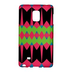 Rhombus and other shapes pattern			Samsung Galaxy Note Edge Hardshell Case by LalyLauraFLM
