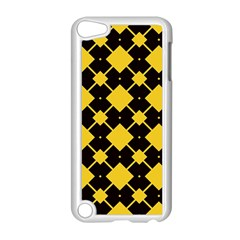 Connected Rhombus Pattern			apple Ipod Touch 5 Case (white) by LalyLauraFLM