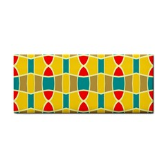 Colorful Chains Patternhand Towel by LalyLauraFLM