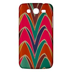 Bended Shapes In Retro Colors			samsung Galaxy Mega 5 8 I9152 Hardshell Case by LalyLauraFLM