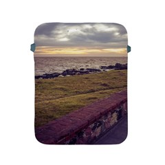 Playa Verde Coast In Montevideo Uruguay Apple Ipad 2/3/4 Protective Soft Cases by dflcprints