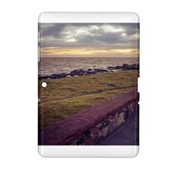 Playa Verde Coast In Montevideo Uruguay Samsung Galaxy Tab 2 (10 1 ) P5100 Hardshell Case  by dflcprints