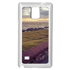 Playa Verde Coast In Montevideo Uruguay Samsung Galaxy Note 4 Case (white) by dflcprints
