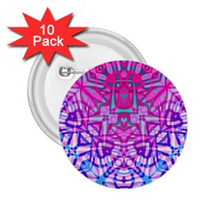 Ethnic Tribal Pattern G327 2.25  Buttons (10 pack)  by MedusArt