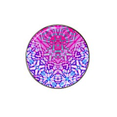 Ethnic Tribal Pattern G327 Hat Clip Ball Marker by MedusArt