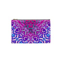 Ethnic Tribal Pattern G327 Cosmetic Bag (small)  by MedusArt
