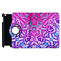 Ethnic Tribal Pattern G327 Apple Ipad 3/4 Flip 360 Case by MedusArt