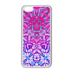 Ethnic Tribal Pattern G327 Apple Iphone 5c Seamless Case (white) by MedusArt