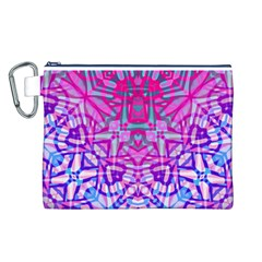 Ethnic Tribal Pattern G327 Canvas Cosmetic Bag (l) by MedusArt