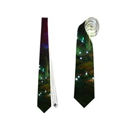 Christmas Lights 2 Neckties (two Side)  by trendistuff