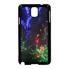 Christmas Lights 2 Samsung Galaxy Note 3 Neo Hardshell Case (black) by trendistuff