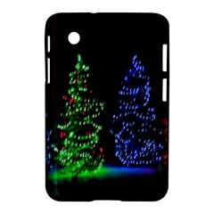 CHRISTMAS LIGHTS 1 Samsung Galaxy Tab 2 (7 ) P3100 Hardshell Case  by trendistuff