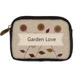 Garden Love Gardener Florist - Digital Camera Leather Case