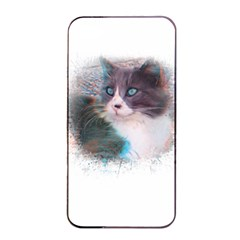 Cat Splash Png Apple Iphone 4/4s Seamless Case (black) by infloence