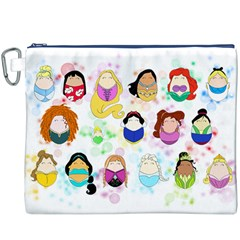 Disney Ladies Canvas Cosmetic Bag (xxxl)  by lauraslovelies