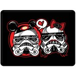 rebelove - Fleece Blanket (Large)