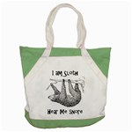 Sloth Accent Tote Bag