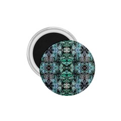 Green Black Gothic Pattern 1 75  Magnets by Costasonlineshop