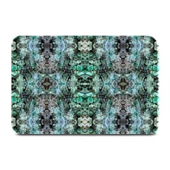 Green Black Gothic Pattern Plate Mats by Costasonlineshop