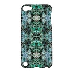 Green Black Gothic Pattern Apple iPod Touch 5 Hardshell Case by Costasonlineshop