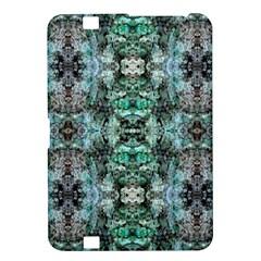 Green Black Gothic Pattern Kindle Fire Hd 8 9  by Costasonlineshop
