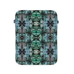 Green Black Gothic Pattern Apple Ipad 2/3/4 Protective Soft Cases by Costasonlineshop